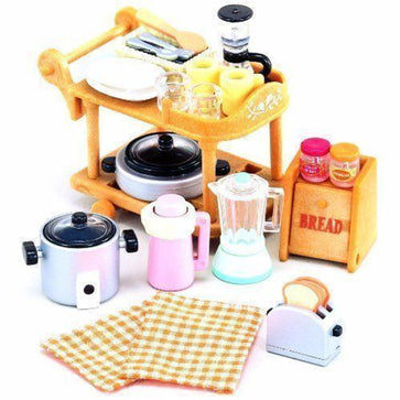 Sylvanian Family Kitchen Cookware Set