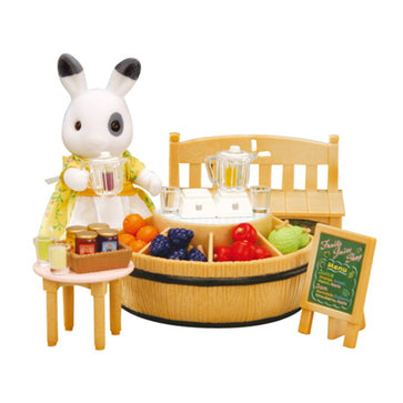 Sylvanian Family Juice Bar & Figure