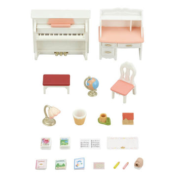 Sylvanian Family Piano & Desk Set