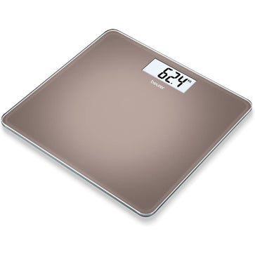 Beurer GS 212 Digital Glass Scale Toffee