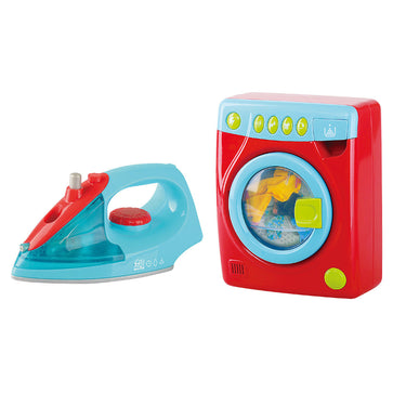 Playgo Wash And Iron Set B/O (New Version)