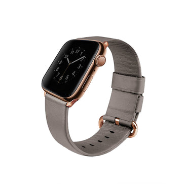 Uniq Mondain Apple Watch 4 Genuine Leather Strap (40mm)
