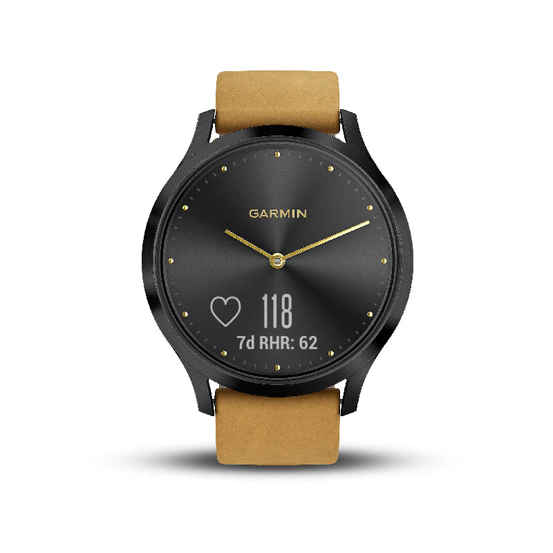Vivomove HR WW Premium Black Tan one size 010-01850-00