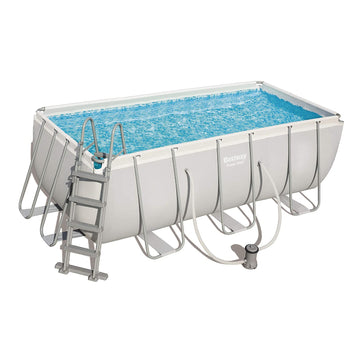 Bestway Power Steel Rectangular Swimming Pool