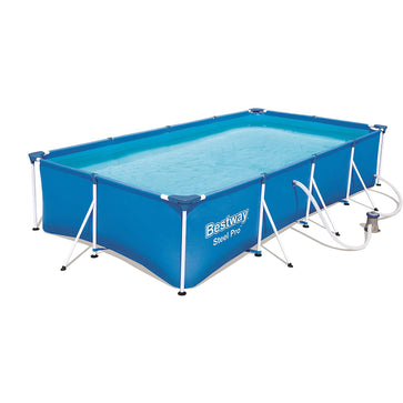 Bestway Steel Pro Inflatable Squared Swimming Pool