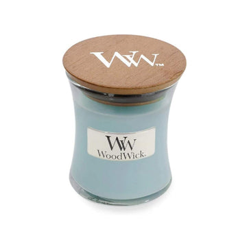 WoodWick Candle Mini Jar Sea Salt and Cotton
