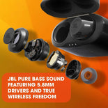 JBL TUNE 120TWS - True Wireless in-Ear Headphone