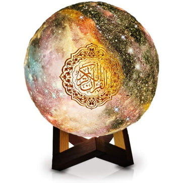 Equantu Moon Lamp Quran Speaker