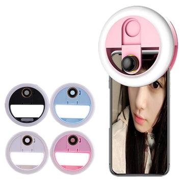 Selfie Ring LED Camera Lens