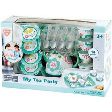 Playgo My Tea Party 14 Pcs (Metalware)