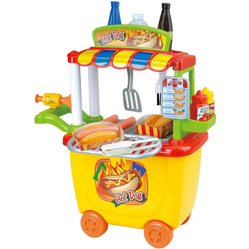 Playgo Gourmet Hot Dog Cart - 30 Pcs