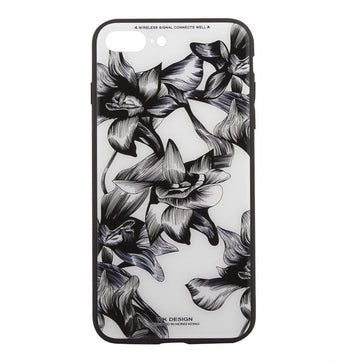 WK Tempered Glass Floral Case (iPhone 7 Plus)