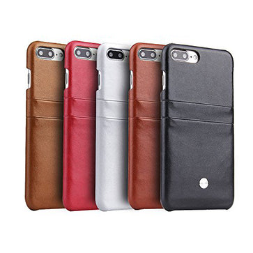 PCOL Leather Card Case (iPhone 7 Plus)