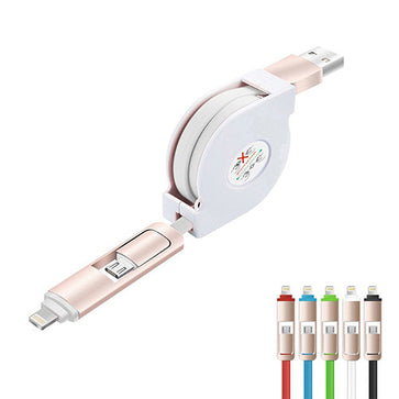 2-in-1 Charging Cable Reel