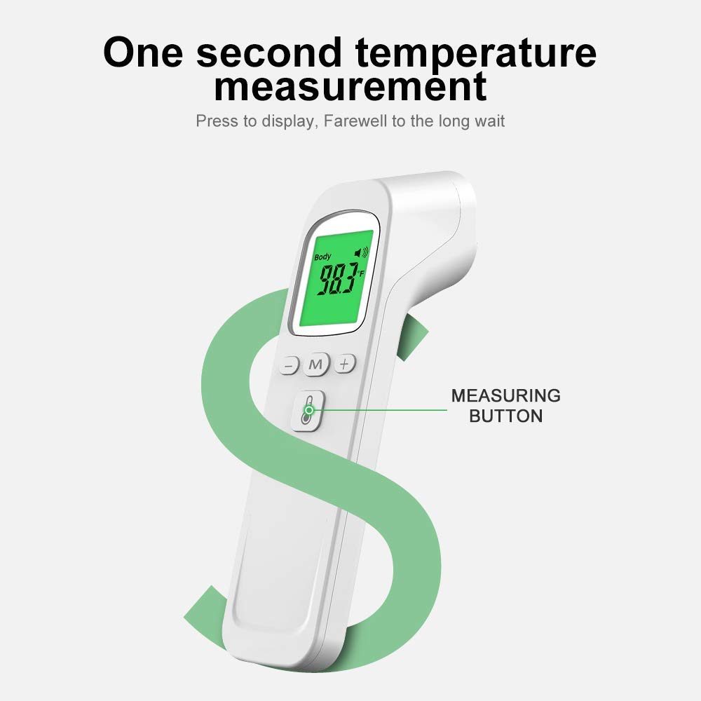Phicon Battery Operated IR Thermometer