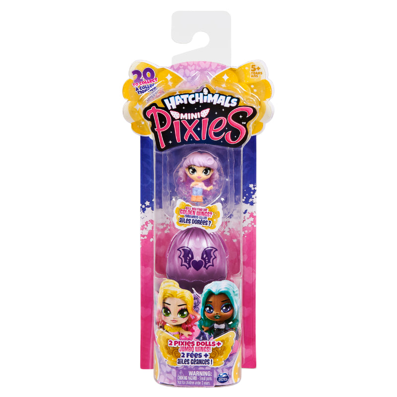 Hatchimals Pixies Mini 2-Pack Asst