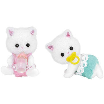 Sylvanian Family Persian Cat Twins