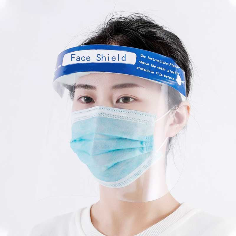 Face Shield Protective Mask (Pack of 10)