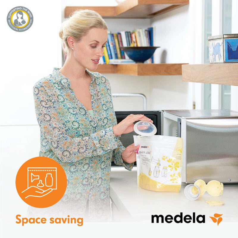 Medela Quick Clean Microwave Bags (5PCS)