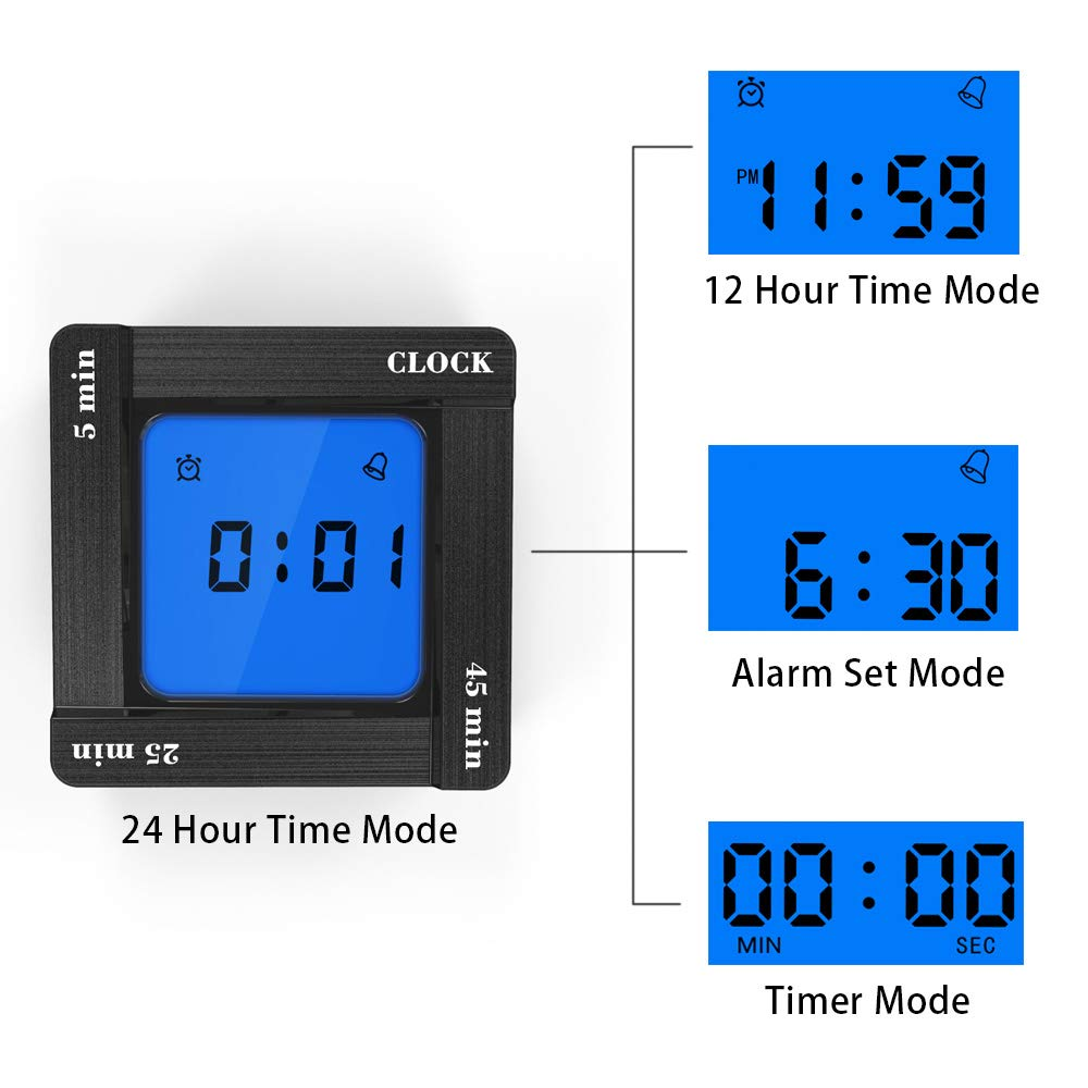 Multi-functional Alarm Clock With Timer