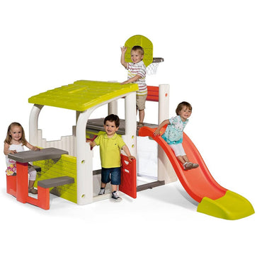 Smoby Fun Centre Multi-Activity Playhouse