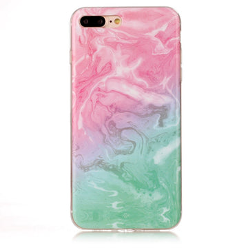 Pink Marble Case ( iPhone 8 plus )