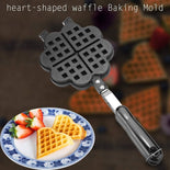 Heart Shaped Waffle Maker Pan