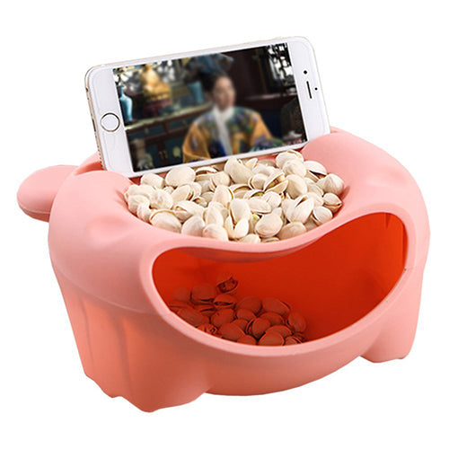 Snack Bowl with Phone Holder - Chikili.com