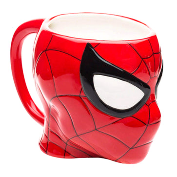 3D Spiderman Sculpted Coffee Mug