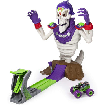 Monster Jam Grim Take Down Playset