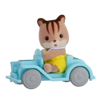Sylvanian Family Squirrel On Car