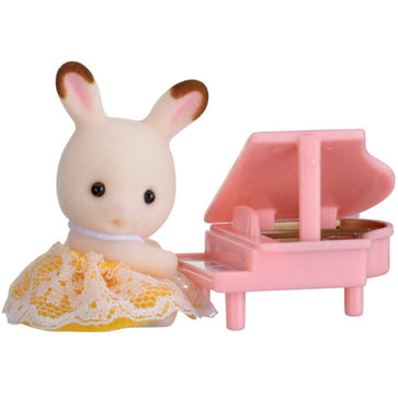 Sylvanian Family Baby Rabbit with Piano
