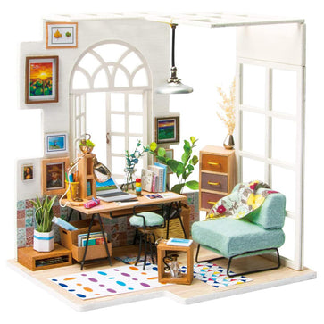 Soho Time DIY Miniature House Kit