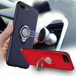 Hybrid Magnetic Ring Stand Case (iPhone 8 Plus)