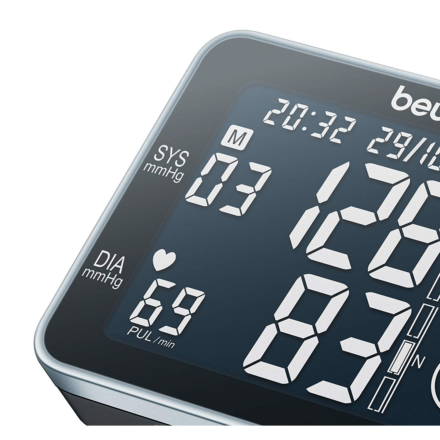 Beurer BC 58 Wrist BP Monitor With Touch Screen