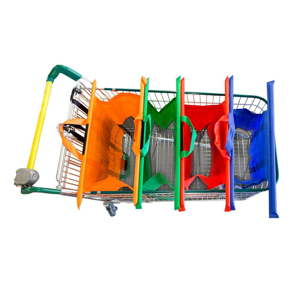 Re-usable Trolley Bag (Set of 4)