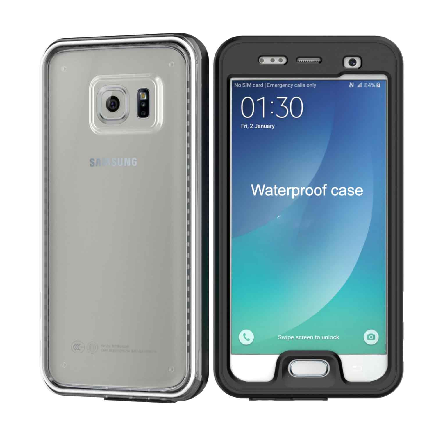 buy popular f7085 2cc5e 360° Full Protection Waterproof Case (Samsung S7 Edge)
