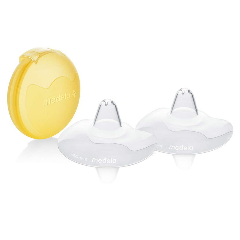 Medela Contact Nipple Shield With Storage Box (2PCS) – S/M/L