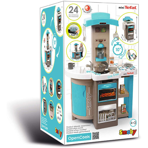 Smoby TEFAL OPENCOOK KITCHEN BUBBLE