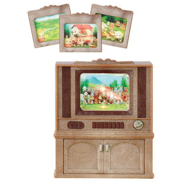 Sylvanian Family Deluxe TV Set