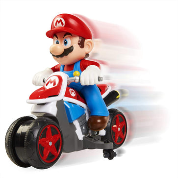 Nintendo Mario Mini Motorcycle RC Racer