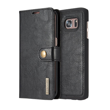 Leather Wallet Case ( Samsung S7 Edge )