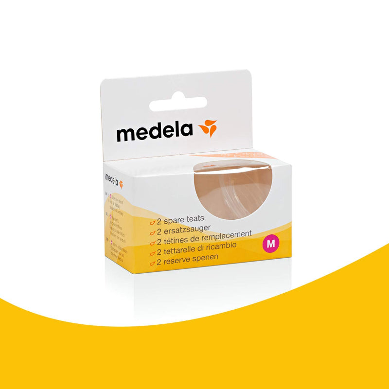Medela Spare Teats Medium Flow