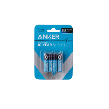 Anker AAA8 Alkaline Batteries 8-Pack