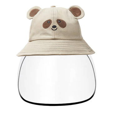 Kids Bucket Hat Face Shield