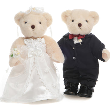 Bride and Groom Logoe Bear