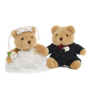 Bride and Groom Teddy In Love