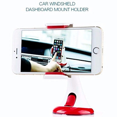 Windshield Dashboard Smartphone Car Mount - Chikili.com