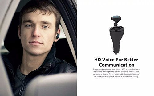 Roman r6000 Bluetooth Earpiece Car Charger