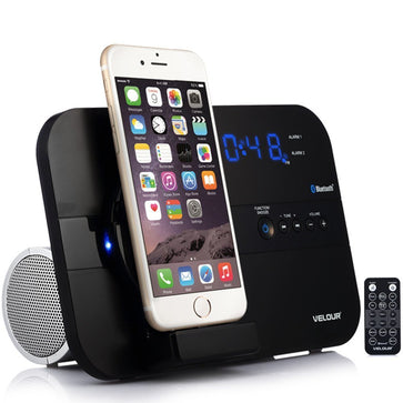 Velour Bluetooth Docking Music System for Apple